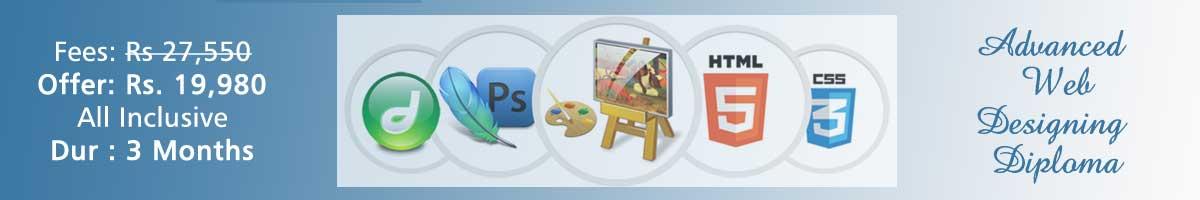 web design banner web designing course